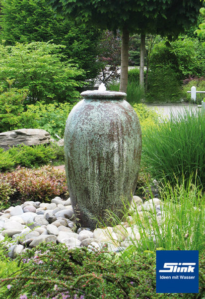 Gartenbrunnen antico krugbrunnen in antiker optik aus keramik - Gartenbrunnen keramik ...