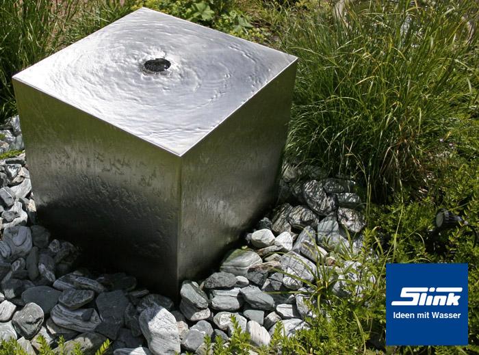 gartenbrunnen edelstahl kubus 50 kaufen, Garten und erstellen