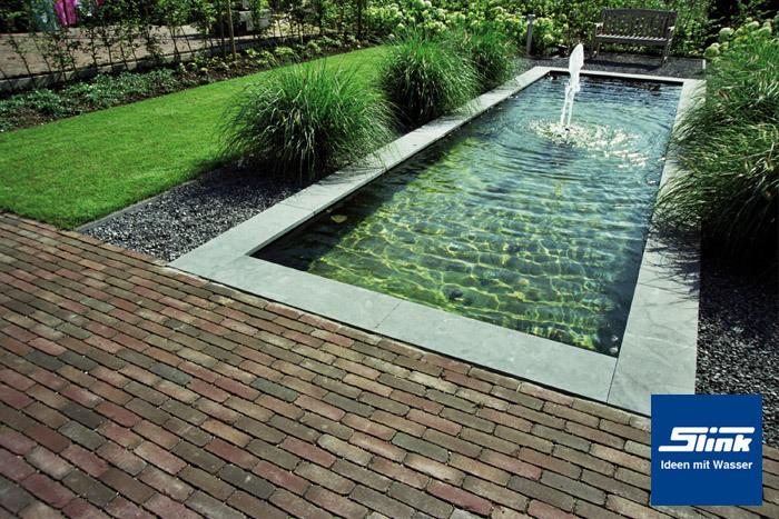 GFK-Wasserbecken Fertigteich rechteckig 300 x 100 x 40 cm mit 950 ...