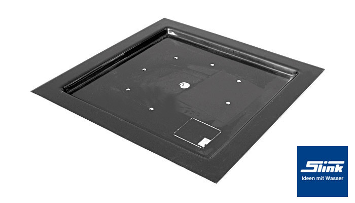 gfk abdeckplatte abdeckung 120 x 120 cm f r eckige becken. Black Bedroom Furniture Sets. Home Design Ideas