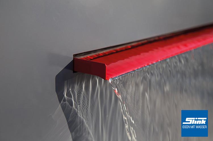 150 cm edelstahl wasserfall bauteil victoria kaufen. Black Bedroom Furniture Sets. Home Design Ideas