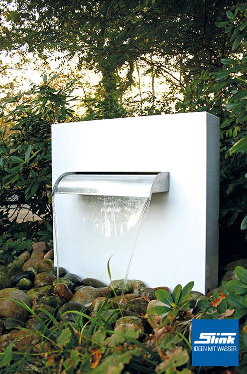 Aluminium Wasserfall Stele Ella Whitewater ...