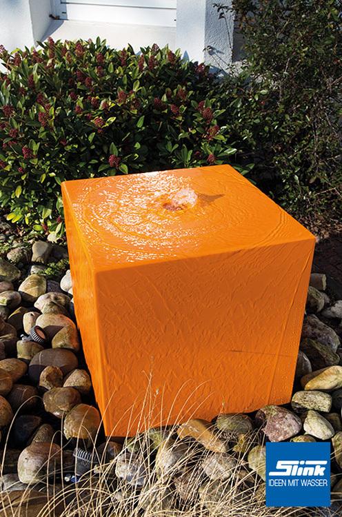 gartenbrunnen aluminum quader 60 - slink   gartenbrunnen, Hause und Garten