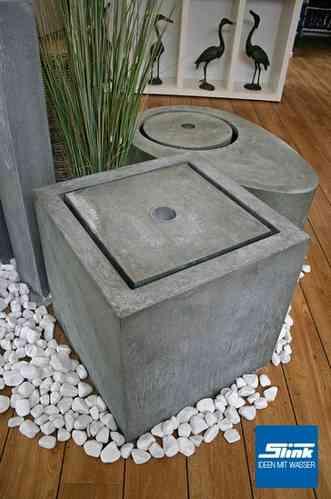 gartenbrunnen aus unterschiedlichen materialien online kaufen. Black Bedroom Furniture Sets. Home Design Ideas