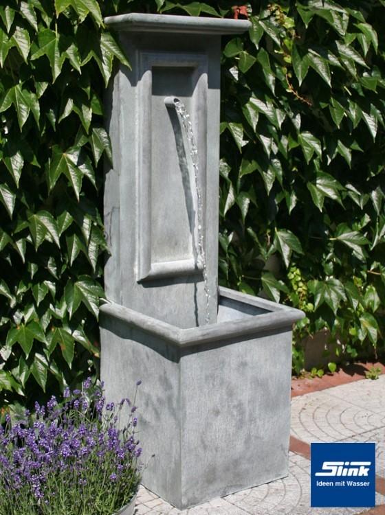 gartenbrunnen zink art wall antik online kaufen. Black Bedroom Furniture Sets. Home Design Ideas
