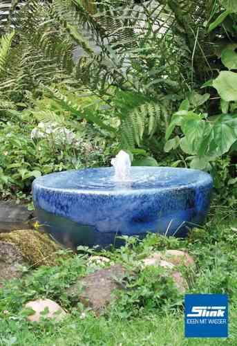 Bunte und einzigartige brunnen aus keramik oder terrakotta keramikbrunnen online bestellen - Gartenbrunnen keramik ...