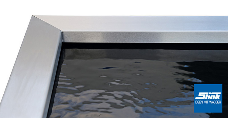 edelstahl beckenrandabdeckung f r gfk becken 246 x 126 x 15 cm. Black Bedroom Furniture Sets. Home Design Ideas