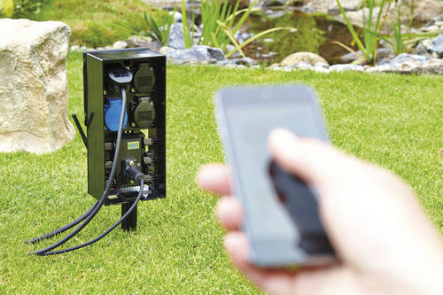 Gartensteckdose Oase InScenio FM-Master WLAN EGC Home