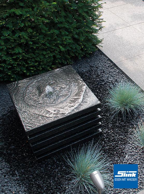 Gartenbrunnen layer online kaufen springbrunnen und - Liegen fur garten ...