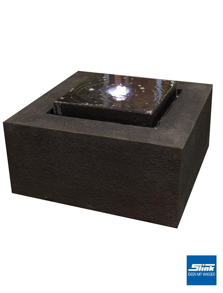 Gartenbrunnen Wassertisch Block Moderne Brunnen Kaufen Designer